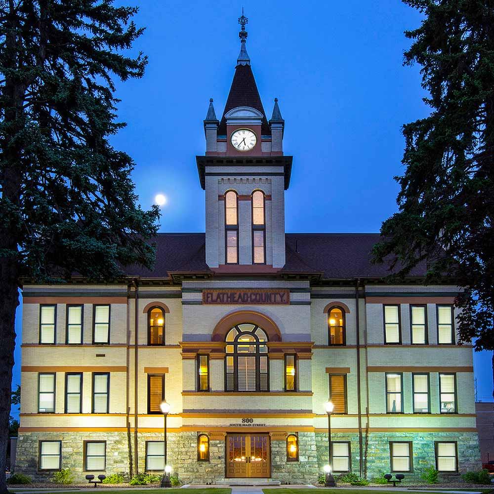 Flathead County Courthouse -- Historic Restoration