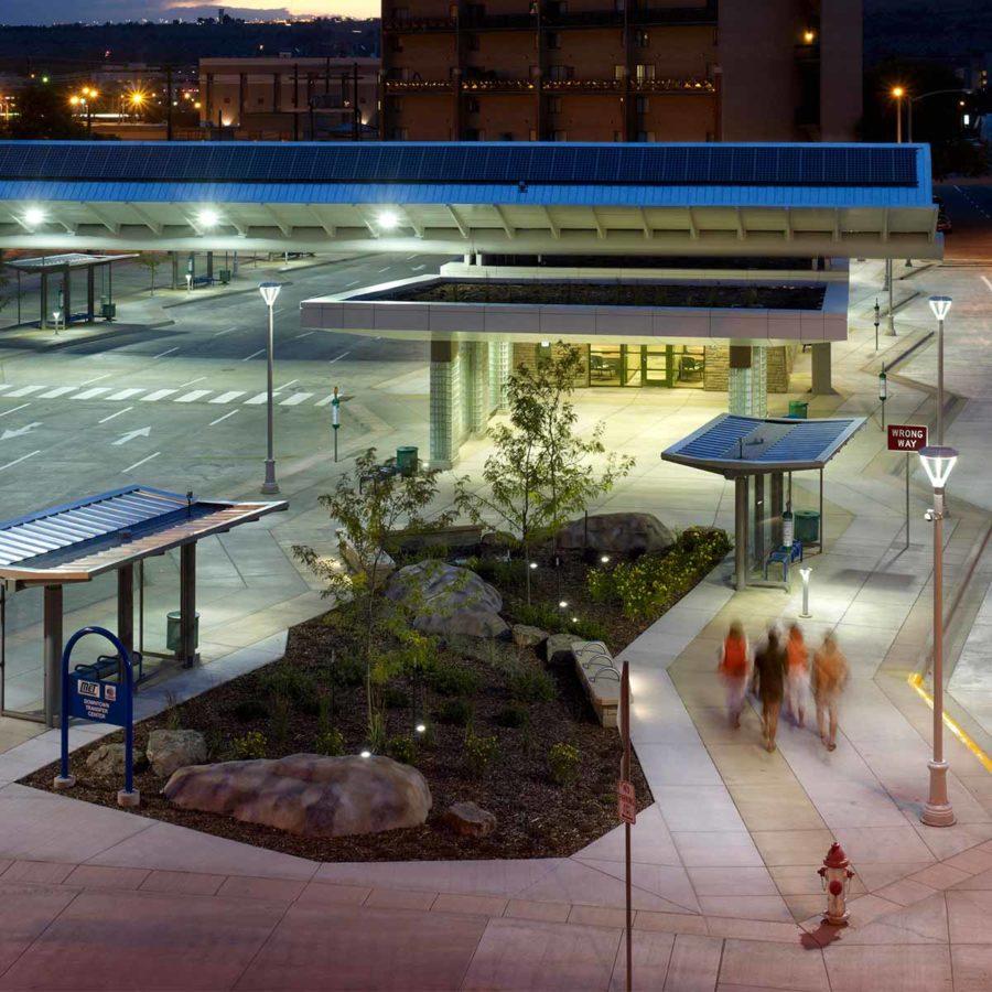 MET Transit Downtown Transfer Center