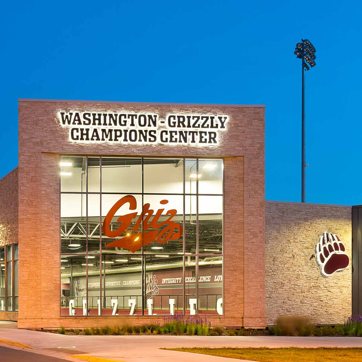 University of Montana Washington-Grizzly Champions Center